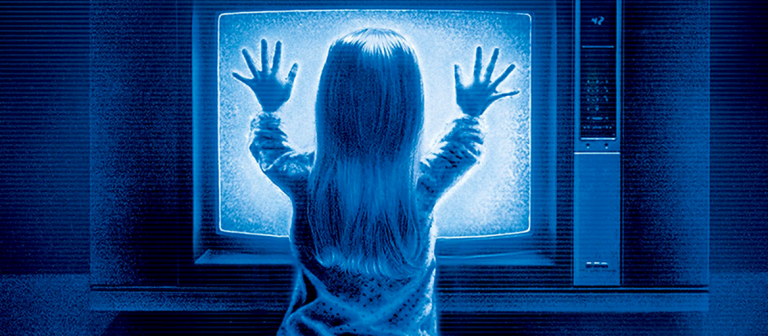 Poster for SCADshow screening of Poltergeist