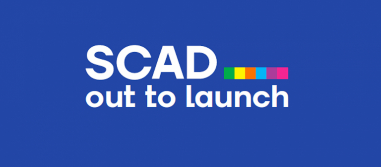 SCAD Out to Launch 2021 branding