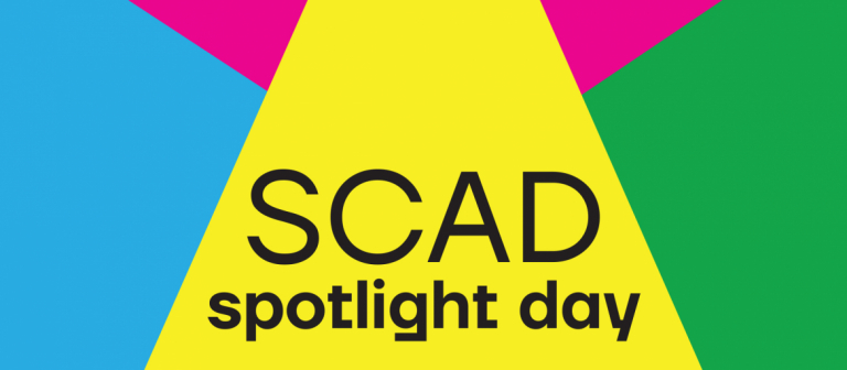 SCAD Spotlight Day branding