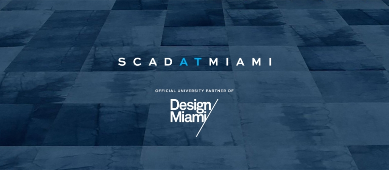 SCAD at Miami 2019 branding