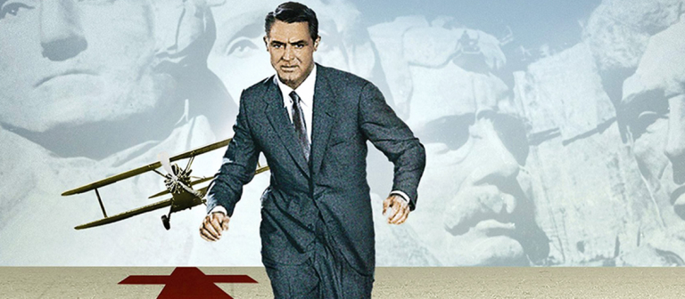 """Movie poster for """"North by Northwest"""" screening at SCADshow"""