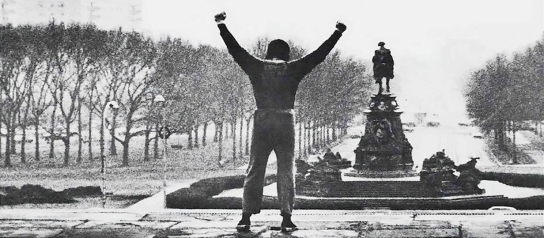 """Poster for """"Rocky"""" screening at SCADshow"""
