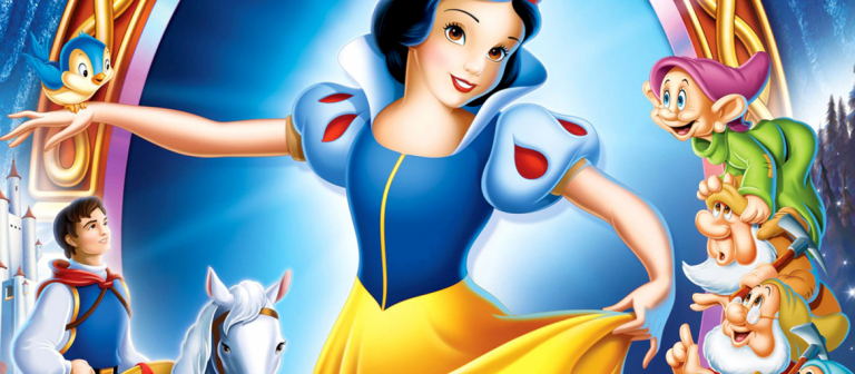 Poster for Snow White screening at SCADshow