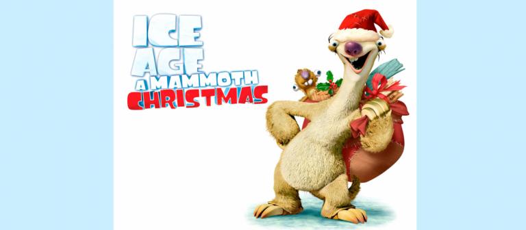 Ice Age A Mammoth Christmas.Enjoy A Holiday Adventure In Ice Age A Mammoth Christmas