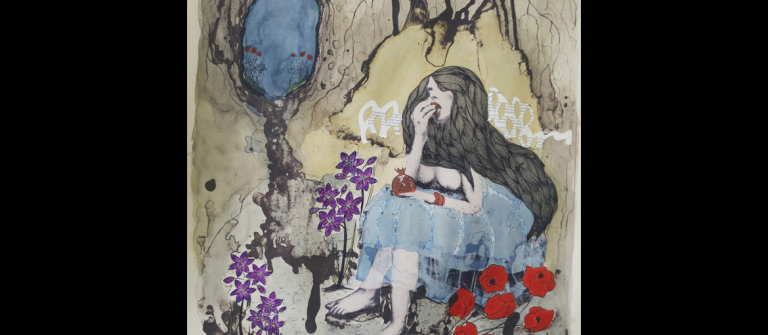 "Elizabeth Castaldo, ""Persephone (Variation 3),"" 2012"