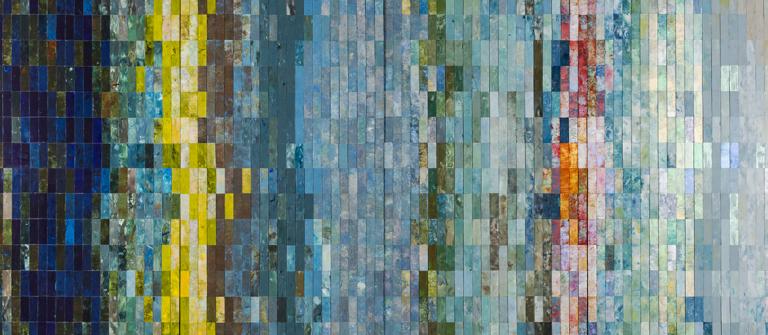 "Enid Blechman, ""Bait Fish,"" 2012."