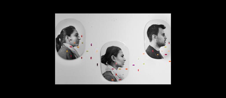 """Sausan Saulat, """"It's Not Me, It's You"""" (detail), 2012."""