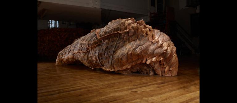 """Ursula von Rydingsvard, """"Ocean Voices,"""" 2011-12."""