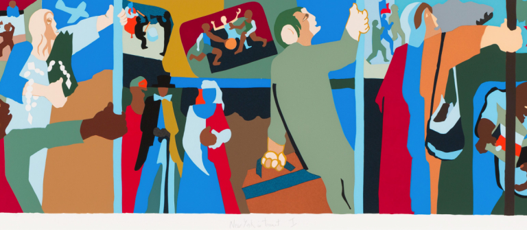 jacob lawrence exhibition: 'history, labor, life: the prints of ...