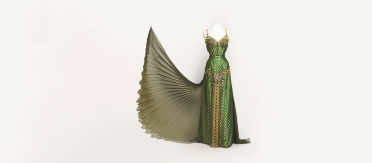 """Costume for """"The Golden Bowl"""" worn by Uma Thurman"""