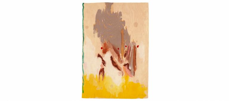 Signature image for Helen Frankenthaler exhibition
