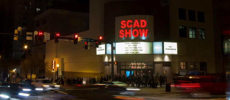 SCADshow, SCAD Atlanta marquee