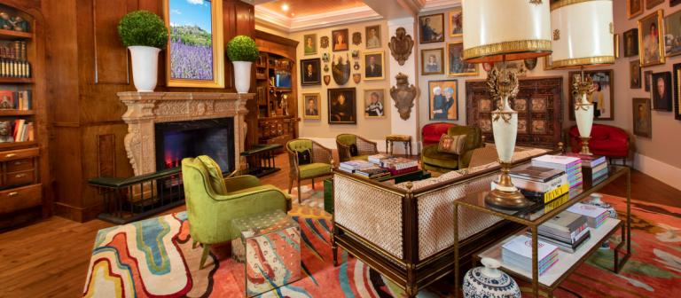 Interior room of Poetter Hall, SCAD Savannah