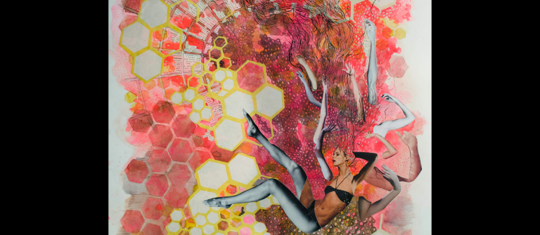 "Elizabeth Castaldo, ""Tragic Misstep,"" 2012"