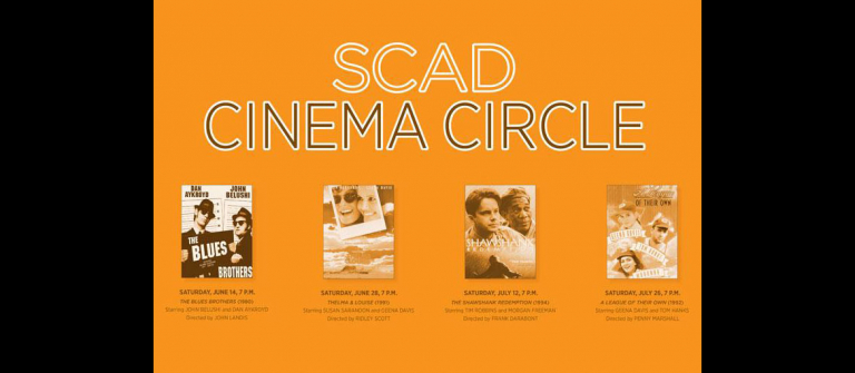 SCAD Cinema Circle 2013 poster