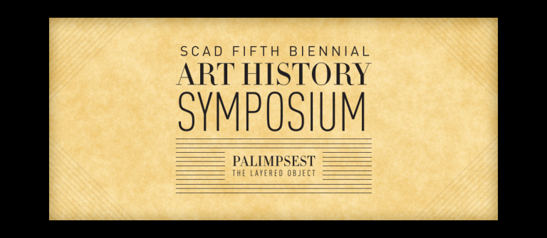 Art History Symposium 2014 | Palimpsest: The Layered Object