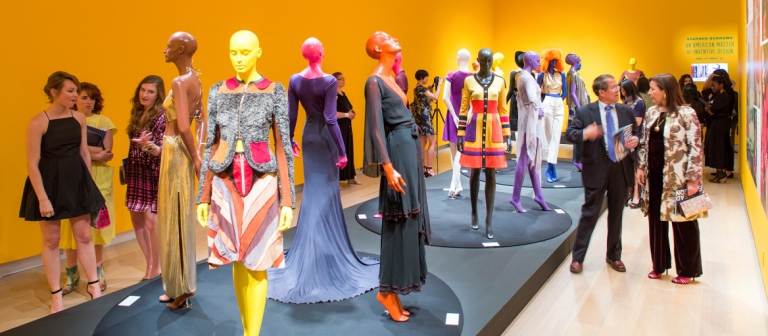 Fashion Show 2014, Stephen Burrows exhibit