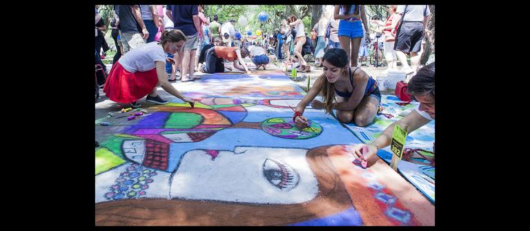 Sidewalk Arts Festival, SCAD Savannah