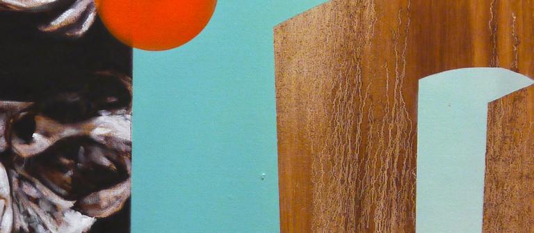 "Tyrus Lytton, SCAD M.F.A. painting student, ""Kerberos,"" 2013"