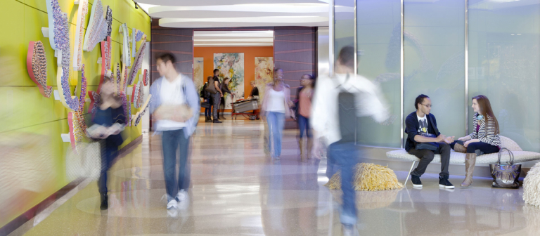 SCAD Atlanta hallway