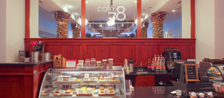 Café 78, SCAD Savannah