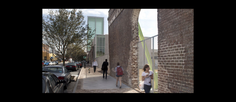 SCAD Museum of Art exterior, Savannah