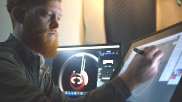 Phillip Cox industrial design header tablet