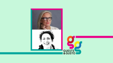 Guests and Gusto speakers Cindy Allen and Ghislaine Viñas