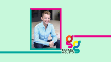 Guests and Gusto speaker Dustin Berry