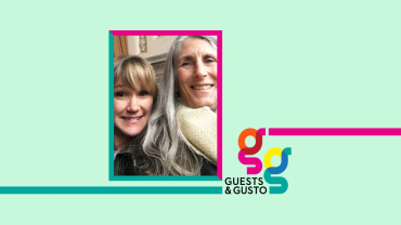 Guests and Gusto speakers Lorna Kollmeyer and Amy Firman