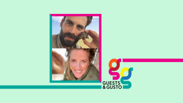Guests and Gusto speakers Michael Turek and Sophy Roberts