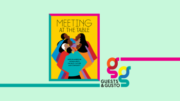 Meeting at the Table cover