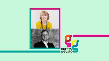 Guests and Gusto speaker Perrier Jouet
