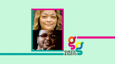 Guests and Gusto speakers Regina Bradley and Tricky Stewart