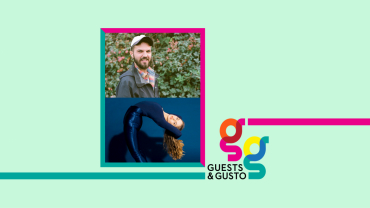 Guests and Gusto speakers Ryan Staake and Erin Murray