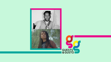 Guests and Gusto speakers S and D Henry-Smith and Taylor Johnson
