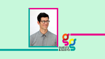 Guests and Gusto speaker Sam Eckersley