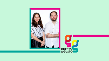 Guests and Gusto speakers Sarah Leff and Jonathan Cohen