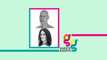 Guests and Gusto speakers Stefan Beckman and Julie Mannion