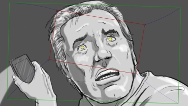 Image for storyboarding workshop with Mark Simon