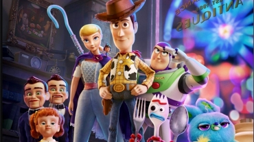 Film poster for SCADFILM screening of Toy Story 4
