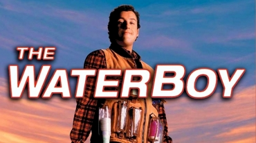 """Movie poster for """"The Waterboy"""" screening at SCADshow"""