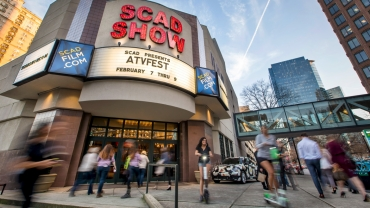 Exterior of SCADshow during aTVfest