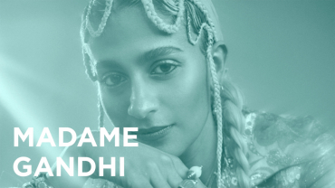 """Play """"On Creativity with Madame Gandhi"""" video"""