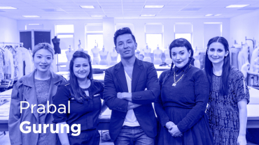 Play video of On Creativity with Prabal Gurung