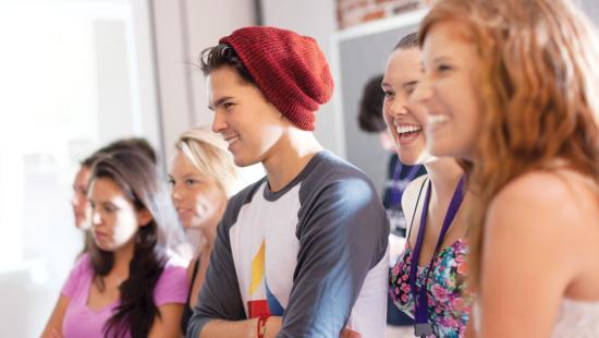 Students at a SCAD Summer Seminar