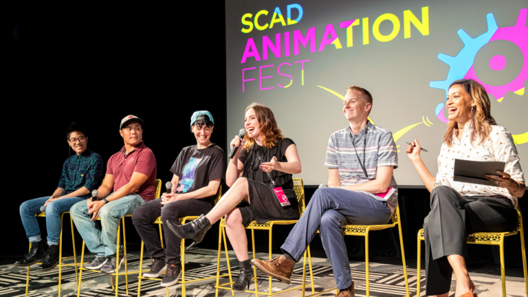 2019 Animation Festival alumni panel at SCAD Atlanta