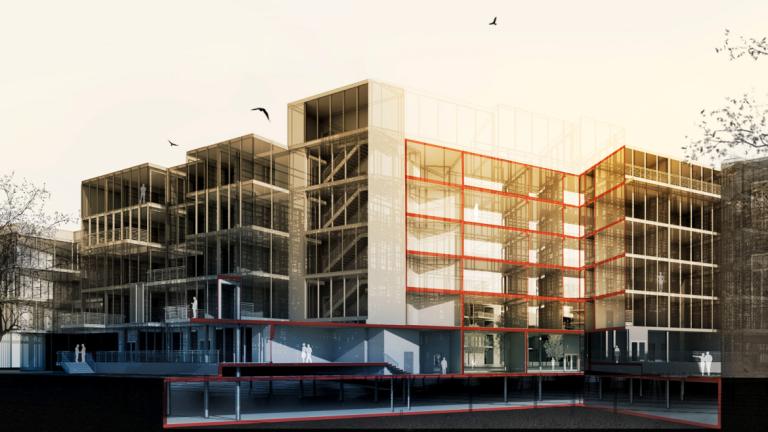 Architecture student work by Dubem Aniebonam
