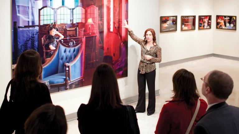 Art history gallery talk
