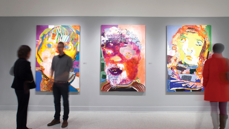 Paintings on exhibit at Alexander Hall Gallery